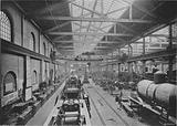 Erecting Shop, London and North-Western Railway Works, Crewe