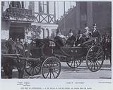 Les Rois A L'Exposition, SM Oscar II, Roi De Suede, Au Grand Prix De Paris