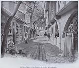 Le Vieux Paris, Les Echoppes De La Rue Des Remparts