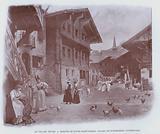 Le Village Suisse, Maisons De Bourg-Saint-Pierre, Valais, Et D'Engelberg, Unterwald