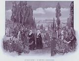 Le Tour Du Monde, Un Cimetiere A Constantinople