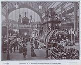L'Exposition De La Mecanique, Section Allemande, Au Champ-De-Mars