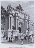 Le Porche Du Grand Palais Sur L'Avenue D'Antin