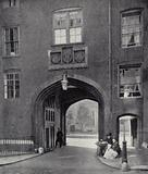 Holborn, Lincoln's Inn, Gatehouse, West side of Chancery Lane, 1518, with later repairs