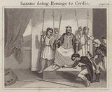 Saxons doing Homage to Cerdic