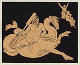 Oceanus on his winged steed