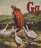 Illustration for John Bull's Farm Alphabet