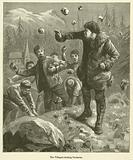 The Villagers stoning Gustavus