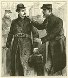 The Forger's Arrest