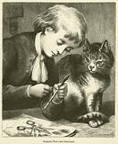 Benjamin West's first Paint-brush
