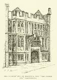 "Old Pilgrims' Inn, or Hospitium, now ""The George Inn,"" Glastonbury"