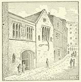 Trinity House, Broad Chare, Newcastle, 1888