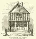 Old Smithy and Open Forge in Digbeth, taken down early in the Nineteenth Century