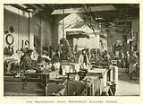 The mechanical shop, Wormwood Scrubbs Prison