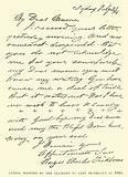 Letter written by the Claimant to Lady Tichborne in 1866