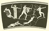 The slaying of the Niobids