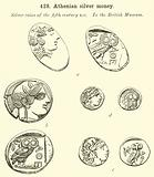 Athenian silver money