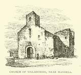 Church of Villadordis, near Manresa