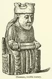 Chessman, twelfth century