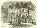 The Temple Fountain, from an old print
