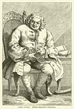 Lord Lovat, from Hogarth's portrait