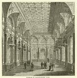 Interior of Clothworkers' Hall