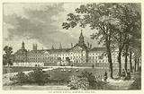 Old Bethlem Hospital, Moorfields about 1750