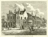 The exterior of Bagnigge Wells in 1780
