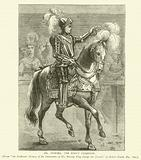 "Mr Dymoke, the King's Champion, from ""An Authentic History of the Coronation of His Majesty King George the Fourth,"" …"