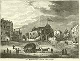 Old Kensington Church, about 1750