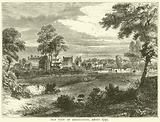 Old view of Kensington, about 1750
