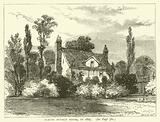 Claude Duval's House, in 1825
