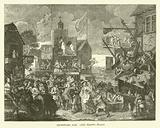 Southwark Fair, after Hogarth's picture
