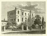 The Freemasons' Charity School, St George's Fields, from an engraving by Rawle, in 1800