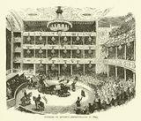 Interior of Astley's Amphitheatre in 1843