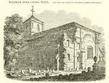 Waltham Holy Cross, Essex, south east view of Waltham Abbey Church