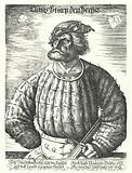 Kunz von der Rosen, court jester of the Holy Roman Emperor Maximilian I