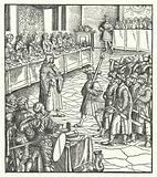 Archduke Maximilian of Austria directing a mummers' play