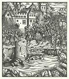Archduke Maximilian of Austria entering Utrecht, 1483