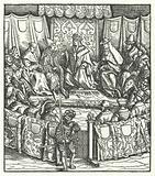 The Holy Roman Emperor Maximilian I negotiating with the Hungarians, 1499
