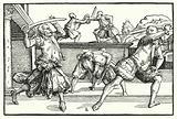 Fencing scene