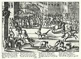 Execution of Francois Ravaillac, assassin of Henry IV of France, 1610