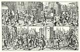 Arrest and murder of Concino Concini, Marshal d'Ancre, Paris, 1618