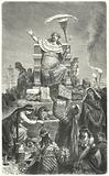 King Croesus on his pyre