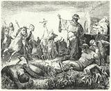 Parthians celebrating a victory