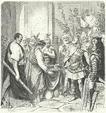 Odoacer forces the Roman Emperor Romulus Augustulus to abdicate, 476