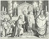 Coronation of Charlemagne as Holy Roman Emperor, 800