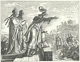 The Holy Roman Emperor Otto III accusing the Romans of disloyalty