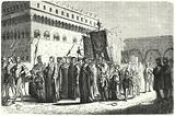 Children's procession in Florence under the rule of Girolamo Savonarola