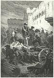Francis, Duke of Guise overseeing the construction of the defences of Metz, 1552